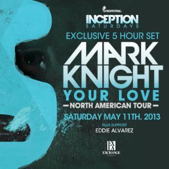 Inception presents Mark Knight: Main Image