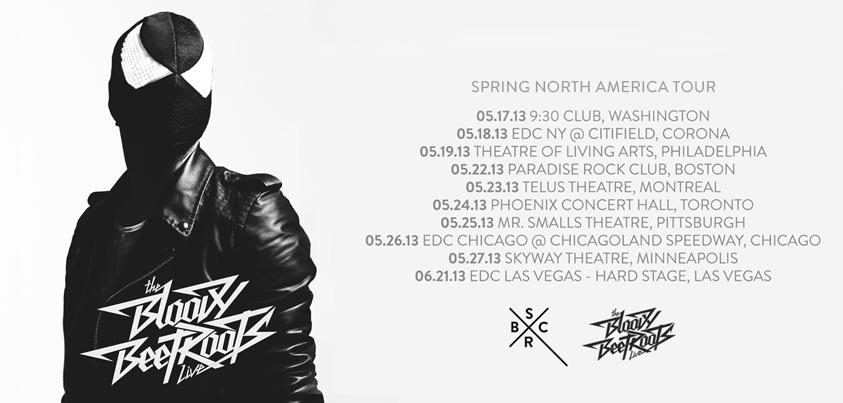 The Bloody Beetroots Tour