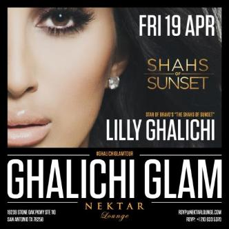 Lilly Ghalichi at NektarLounge: Main Image