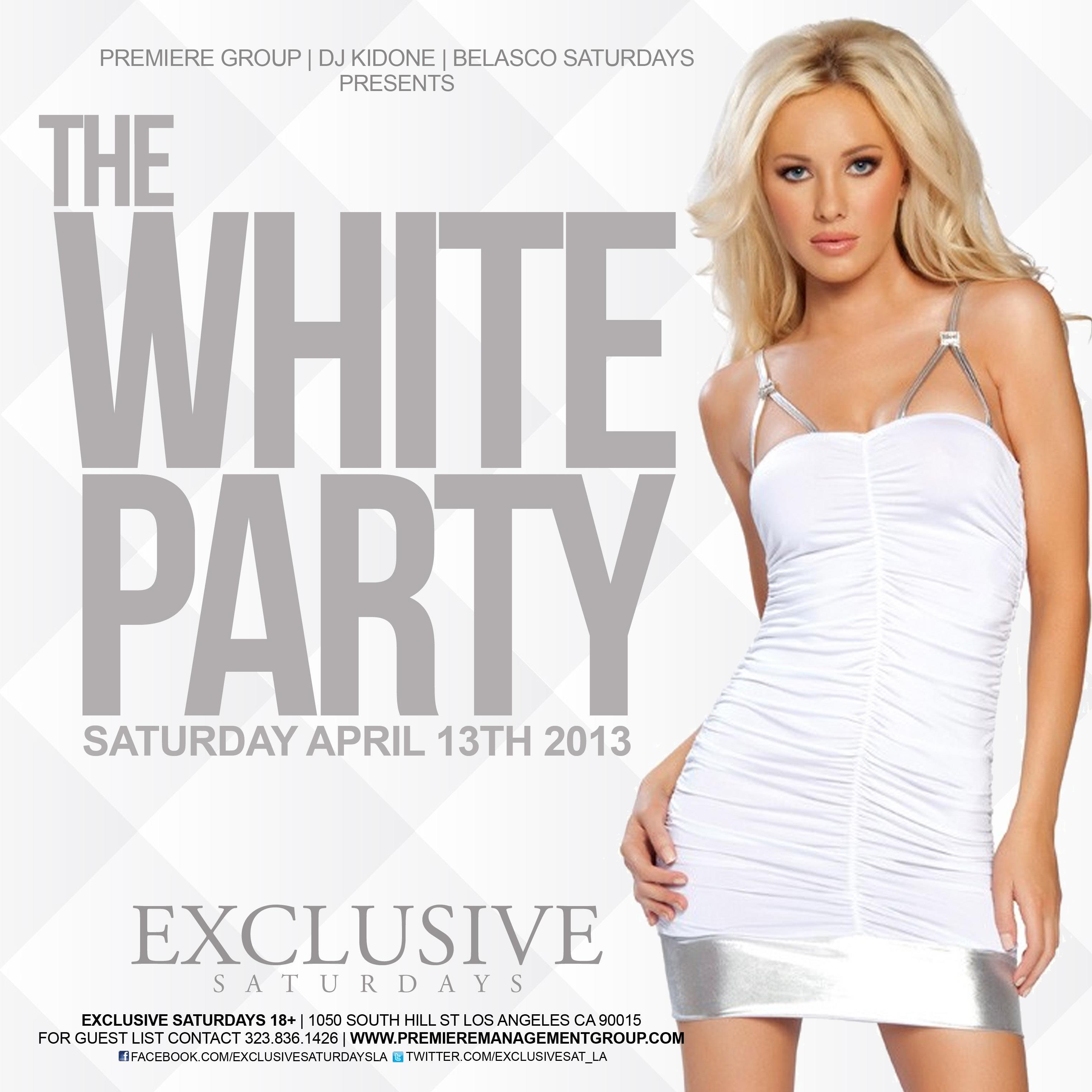 White Party Dress Group USA