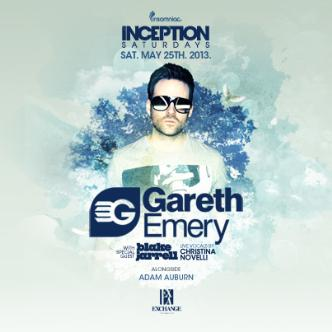 Inception ft. Gareth Emery: Main Image