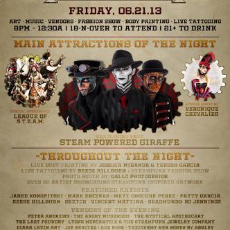 Steampunk LA: Main Image