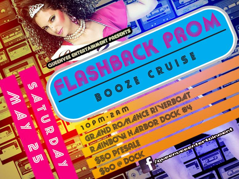 Flashback Prom Booze Cruise Tickets The Grand Romance