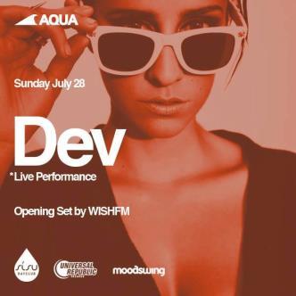 AQUA presents DEV: Main Image