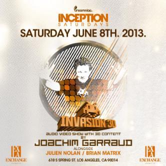 Inception ft. Joachim Garraud: Main Image