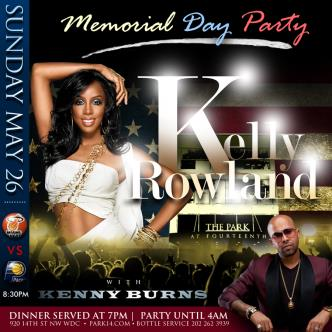 Kelly Rowland @ParkAt14th: Main Image