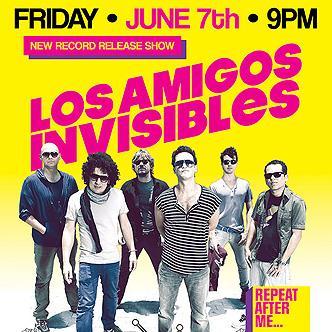 Los Amigos Invisibles Orlando: Main Image