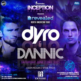 Inception ft. Dannic & Dyro: Main Image