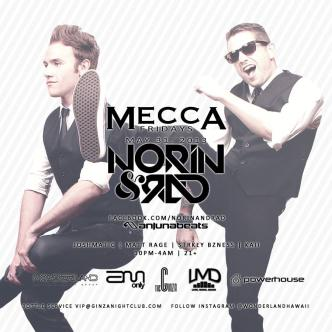 NORIN & RAD- Mecca Fridays: Main Image