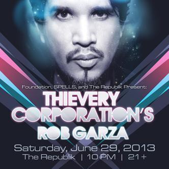 Thievery Corporation Rob Garza: Main Image
