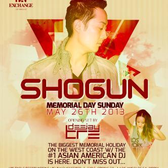 Shogun, MDW Exchange LA: Main Image