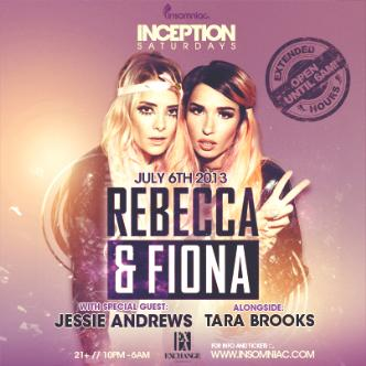 Inception ft. Rebecca & Fiona: Main Image