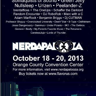 Nerdapalooza 2013: Main Image