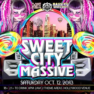 SWEET CITY MASSIVE: Main Image