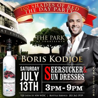 Boris|100 shades of RED Event: Main Image