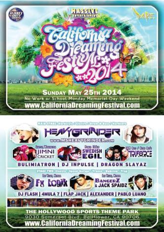 California Dreaming Festival: Main Image
