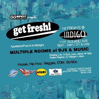 1st Fridays @ Indigo: Main Image