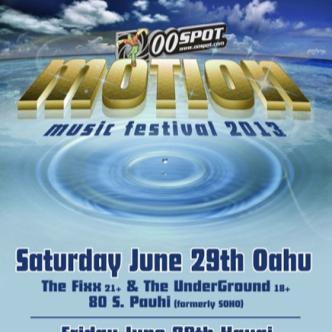 Motion Music Festival OAHU HNL: Main Image