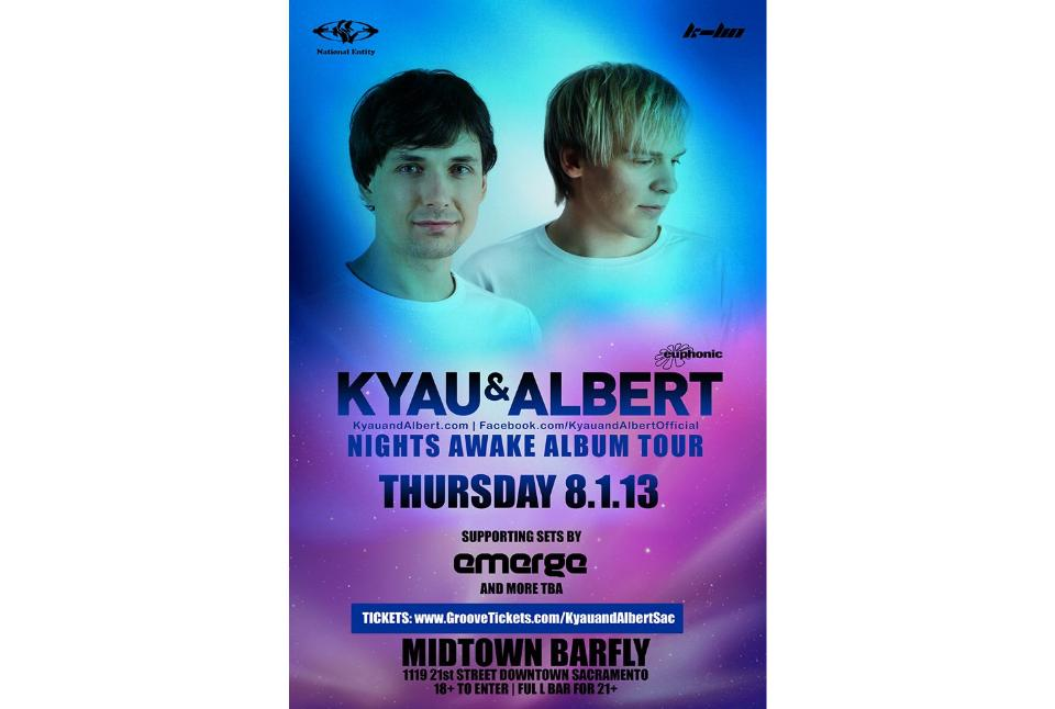 Kyau & Albert - Trance Legends Tickets - The Barfly on August 01 ...