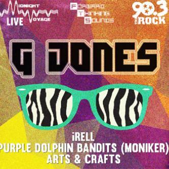 GJones | iRell @ The Bowery: Main Image
