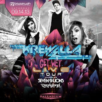KREWELLA :: GET WET LIVE TOUR: Main Image