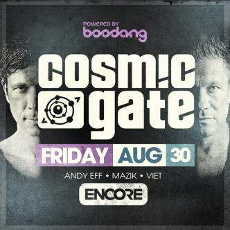 COSMIC GATE - YEG: Main Image