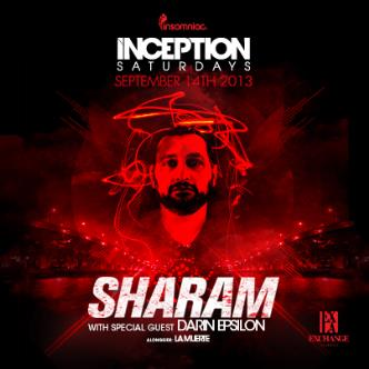 Inception ft. Sharam: Main Image
