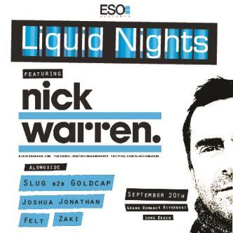 Liquid Nights w/ Nick Warren!: Main Image