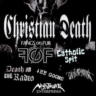 Christian Death W/Fangs on Fur: Main Image