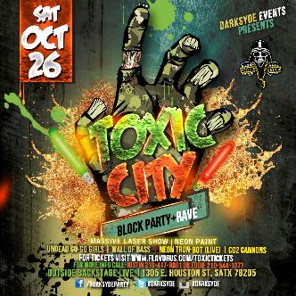 TOXIC CITY: HALLOWEEN RAVE: Main Image