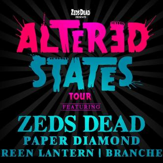 ZEDS DEAD  ALTERED STATES YEG: Main Image