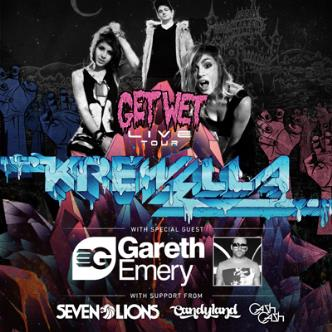 KREWELLA: GET WET LIVE: Main Image