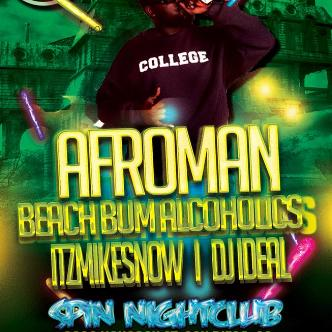 AFROMAN LIVE in SAN DIEGO: Main Image