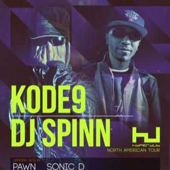 KODE9, DJ SPINN: Main Image
