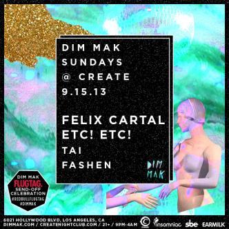 DIM MAK | FELIX CARTAL&ETC!ETC: Main Image