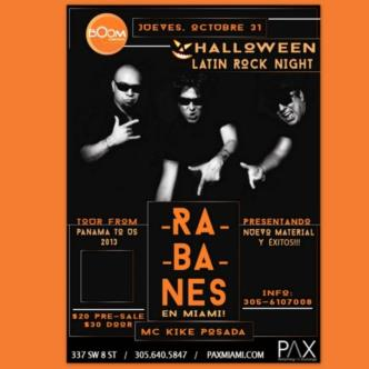 LOS RABANES Live in Miami!: Main Image