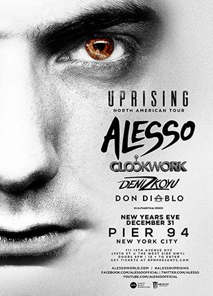 Uprising Tour Feat. Alesso: Main Image
