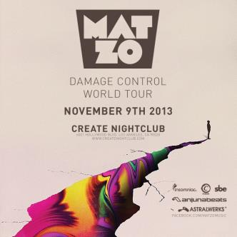 MAT ZO | DAMAGE CONTROL TOUR: Main Image