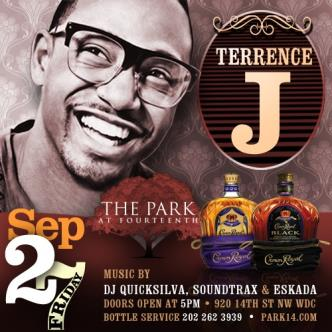 Terrence J @ The Park: Main Image
