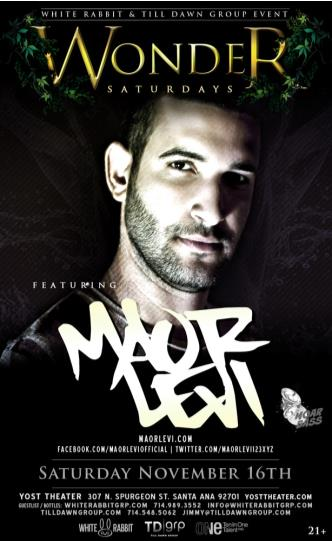 Wonder Saturdays w/ Maor Levi: Main Image