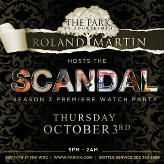 Roland Martin Scandal Party: Main Image