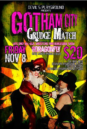 GOTHAM CITY GRUDGE MATCH: Main Image