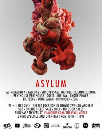 4th Annual Asylum: Main Image