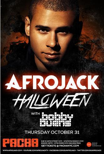 Afrojack Halloween at Pacha: Main Image