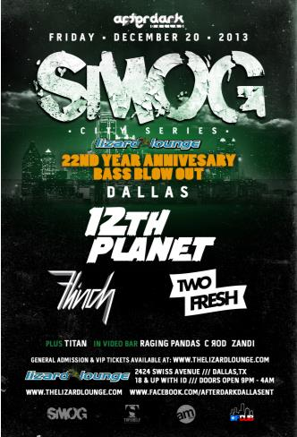 SMOG feat 12th Planet & Flinch: Main Image