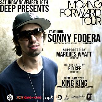 DEEP-LA presents SONNY Fodera: Main Image