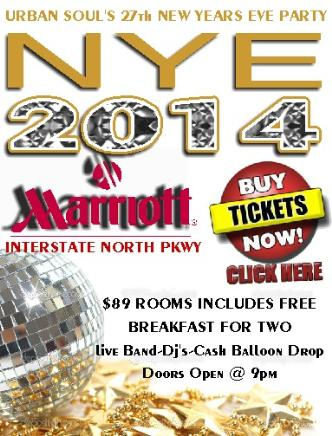 Urban Soul's 27th NYE Party: Main Image