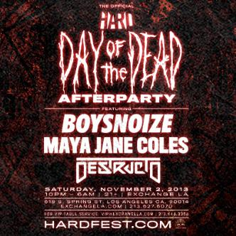 Day of the Dead After Party: Main Image