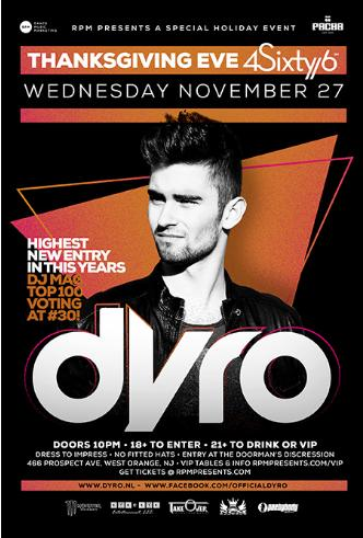 THANKSGIVING EVE with DYRO: Main Image