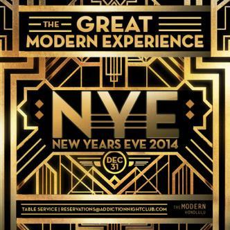 Modern Experience NYE 2014: Main Image